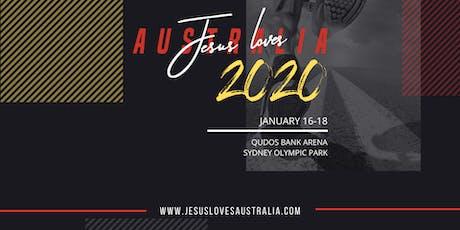 JESUS LOVES AUSTRALIA 2020 - Pastors and Leaders Vision Night #3 tickets