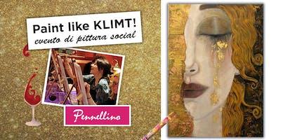 Paint like KLIMT - evento di pittura social!