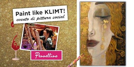 Paint like KLIMT - evento di pittura social! tickets