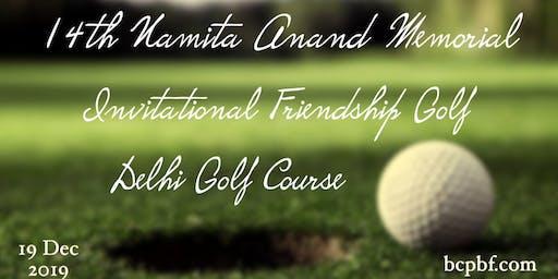 Golf Fights Cancer, 14th Namita Anand Memorial Invitational Friendship Golf