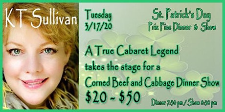 KT Sullivan - Cornedbeef and Cabbage Show - St. Patrick's Day tickets