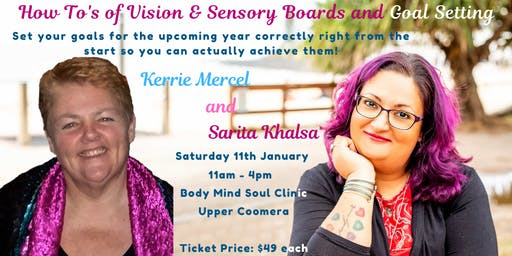 How To's of Vision & Sensory Boards & Goal Setting