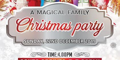 A Magical Family Christmas Party