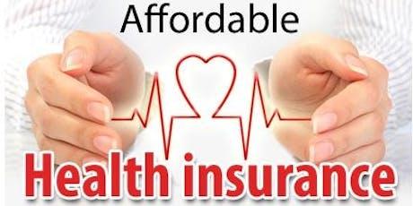 San Mateo 如何正确购买甚至免费购买2020年健康保险?12月15日之前必须决定!(参加者有机会被赠送$200美金旅游礼劵) tickets