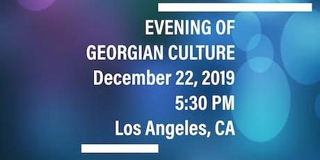 Evening of Georgian Culture tickets