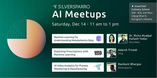 Silversparro AI Meetup with 1mg and Elucidata