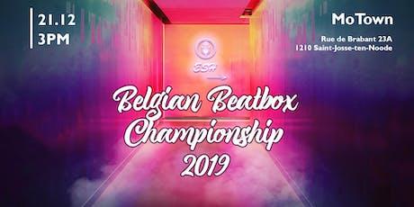 Belgian Beatbox Championship 2019 tickets