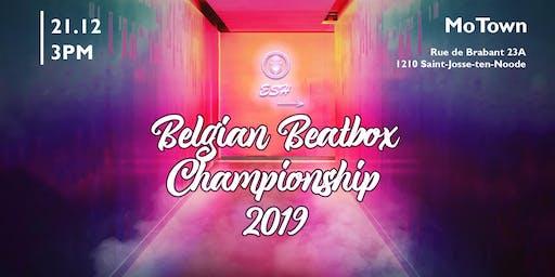 Belgian Beatbox Championship 2019