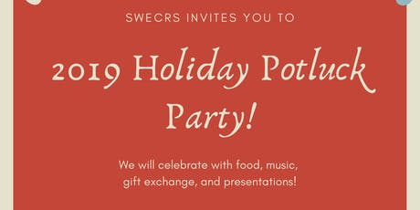 SWE CRS Holiday Potluck tickets