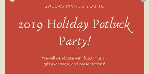 SWE CRS Holiday Potluck