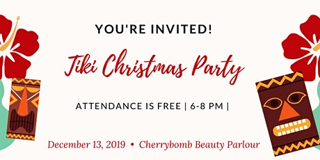 CHERRYBOMB CHRISTMAS PARTY tickets