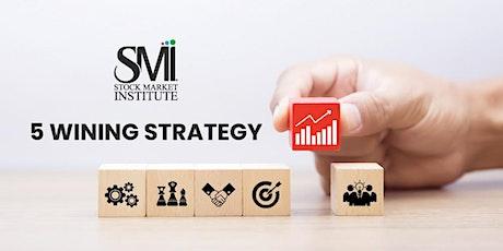 5 Winning Strategy tickets