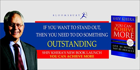 Shiv Khera Book Launch: You Can Achieve More tickets