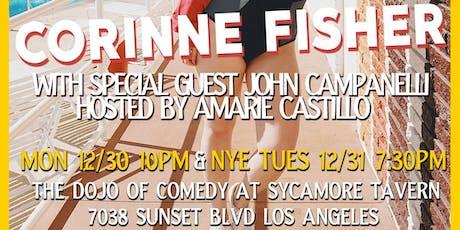 CORINNE FISHER LIVE IN LA w/special guest JOHN CAMPANELLI & AMARIE CASTILLO tickets