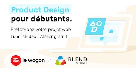 Product Design Sprint - 16 décembre tickets