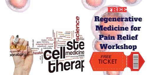 FREE Regenerative Medicine for Pain Relief Workshop