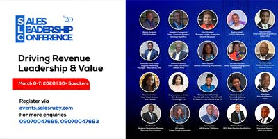 Sales Leadership Conference 2020