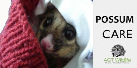 Possum Care - ACT Wildlife tickets