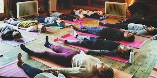 New Year's Yoga Retreat  At Hackney city Farm