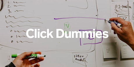 Workshop: Creating interactive click dummy prototypes for digital products Tickets