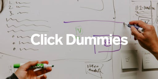 Workshop: Creating interactive click dummy prototypes for digital products