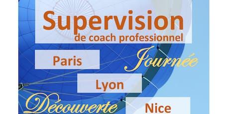 Supervision de coach professionnel Paris 2019-2020 - journée découverte billets