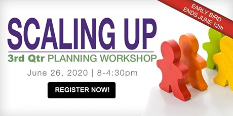 Q3 Scaling Up Planning Workshop: Building a Team tickets