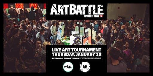 Art Battle North Bay - January 30, 2020