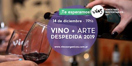 Vino y Arte - Despedida 2019 entradas