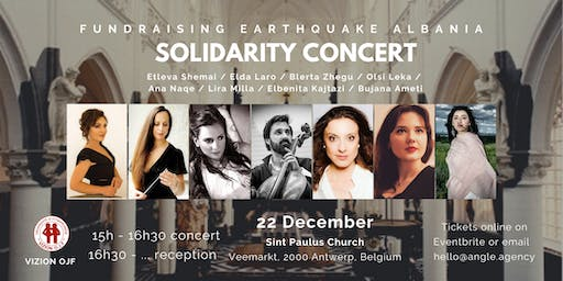 Solidarity Concert - Fundraising for Albanian Earthquake