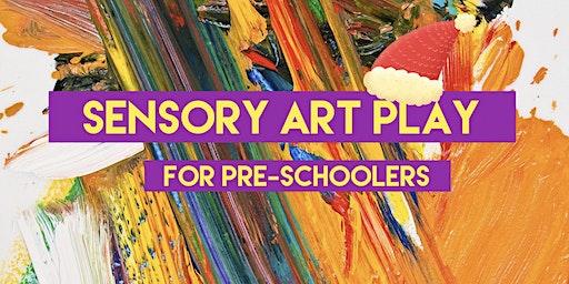 Sensory Art Play for Pre-Schoolers