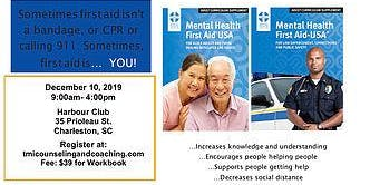 Mental Health First Aid Certification Course