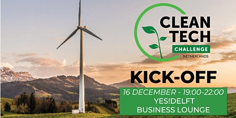 CleanTech Challenge Kick-off YES!Delft Students & ECE Students tickets