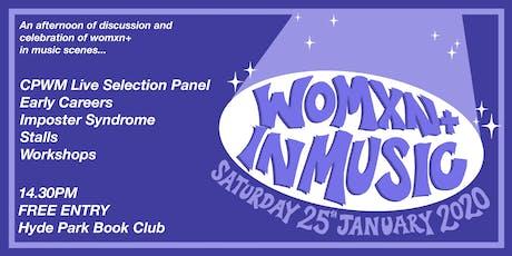 Womxn+ In Music tickets