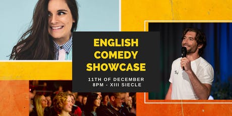 English Comedy Showcase tickets