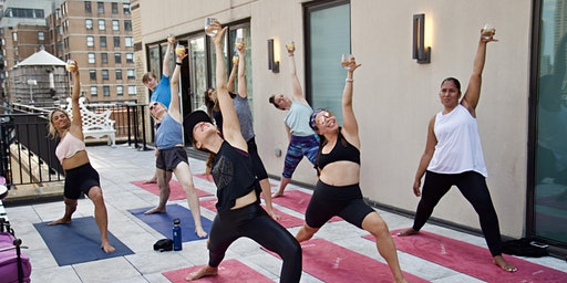 Drunk Yoga® Dallas Presents: A Weekend of Wine + Yoga at Virgin Hotels Dallas