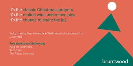 Festive Free Workspace Wednesdays - The Plaza, Liverpool tickets