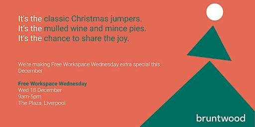 Festive Free Workspace Wednesdays - The Plaza, Liverpool