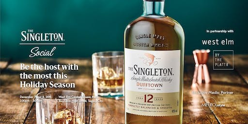 DEC 7&8: The Singleton Social with West Elm & By the Plattr