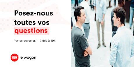 Session d'information le Wagon Lyon - 12 décembre billets