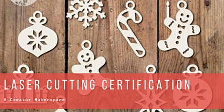 Laser Cutter Certification [1month membership included*] tickets