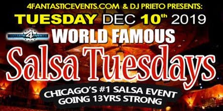 World Famous Salsa Tuesday @ Alhambra - Dec 10th 2019 tickets
