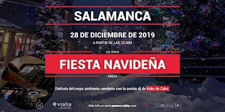 Fiesta navideña con Koke de Cabo en Pause&Play Vialia Salamanca entradas
