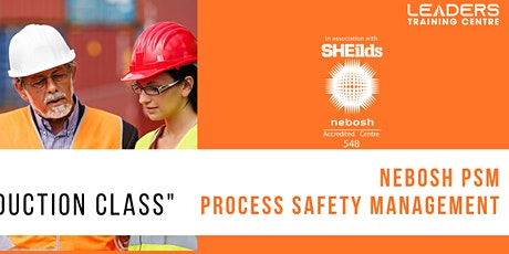 PROCESS SAFETY MANAGEMENT- DEMO CLASS tickets