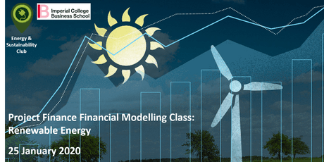 Project Finance Financial Modelling Master Class: Renewable Energy tickets
