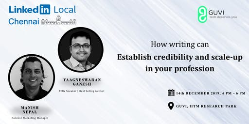 How Writing Can Establish Credibility & Scale-Up In Your Profession