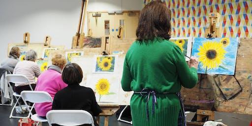 Art Experience with Simon Jardine - 11 week course in Newbury