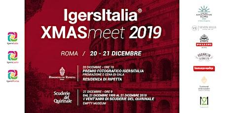 Igersitalia XMASmeet 2019 biglietti