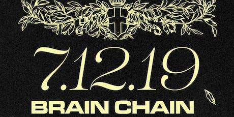 BrainChain Release Party w/ 20100ntwrk biglietti