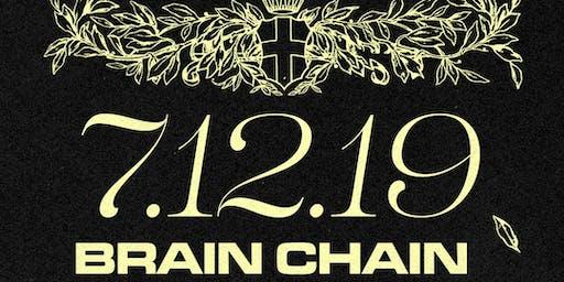 BrainChain Release Party w/ 20100ntwrk